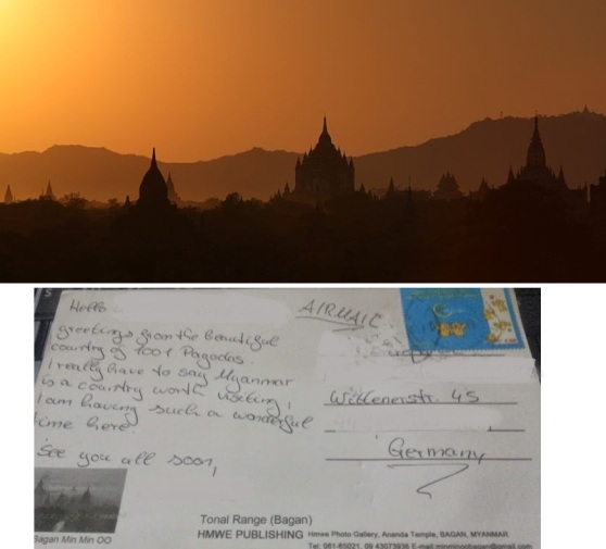 Postcard from Bagan